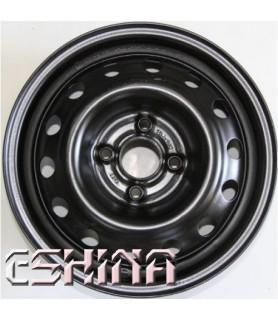 КрКЗ Daewoo Lanos/Sens/Nexia Black R13 W5 PCD4x100 ET49 DIA56.56